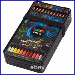 Uni POSCA Oil Wax Pencil Box Set of 36 Colours