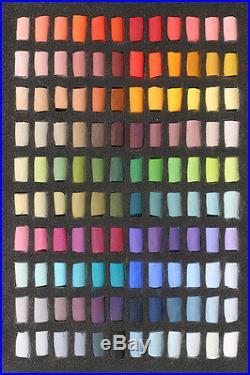 Unison Artists Pastel Box Set 120 Half Sticks