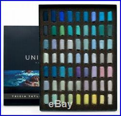 Unison Artists Pastel Box Set 63 Half Length Tricia Taylor Seascape