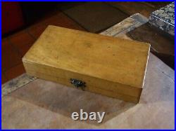 VINTAGE 1930's ARTISTS TRAVEL WATERCOLOUR BOX by Gunther Wagner, see photo's