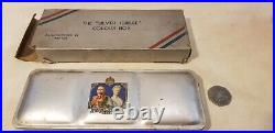 VINTAGE Reeves Silver Jubilee Colour Box No 1 & card sleeve. 1933