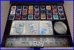 Vintage Artist Students' Colour Box, Reeves & Sons Ltd, London, No. 62