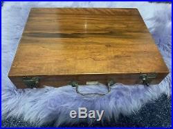 Vintage Artists Lechertier Barbe & Co Walnut Pochade Box Art Painting