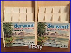 Vintage Box Series 19 Derwent Colour Pencils from England Brit Color Council 61