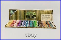 Vintage DERWENT COLOURED BLOCKS / CRAYON DRAWING SET in box c1940's