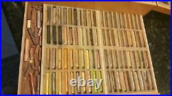 Vintage GIRAULT L&B Quentin de la Tour Soft Pastels Set of 320 RARE WithBOX