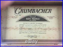 Vintage Grumbacher 180 Color Pastel Box Set-unused