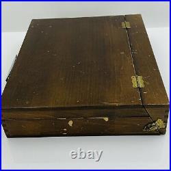 Vintage Grumbacher Soft Pastels 128 count Box Set no. 9 Studio Assortment