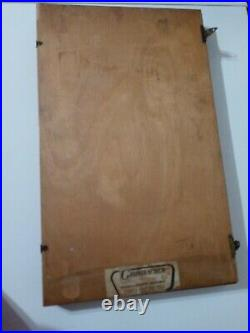Vintage Grumbacher soft pastels 90 count box set no. 78 Edgar Degas studio RARE