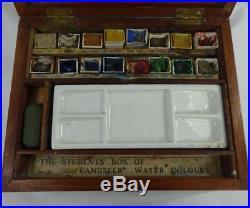 Vintage Landseer Watercolour Artists Paint Box Original Condition