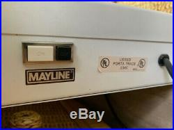 Vintage Mayline Porta Trace Light Box Drafting Table Drawing Tracing 120W 24x36