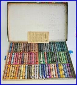 Vintage Rembrandt by Talens Soft Artist Pastels Set of 90 in Original Box