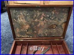Vintage Roberson Artists Paint Box Oil Painting Paint Art