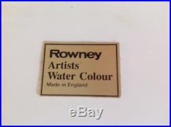 Vintage Roweny Artist Watercolour Paint Box