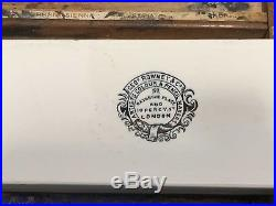 Vintage Rowney Wooden Artists Watercolour Box Art Painting Paint