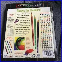 Vintage Sanford Prismacolor Color Pencil Set 120! MINT in sealed box! USA