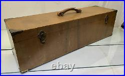 Vintage Stunning 28 Tackle / Art Supply Wood Box Classic