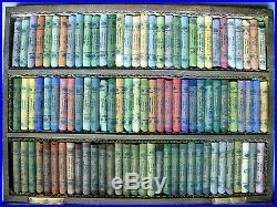 Vintage TALENS & SON Rembrandt SOFT PASTELS 96 Chalk Box HOLLAND art supplies