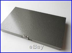 Vintage Winsor & Newton Japanned Portable Artists Paint Set Tin Box Oils Metal
