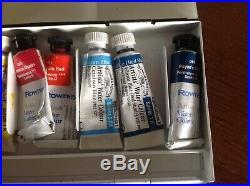 Vintage watercolour paint box