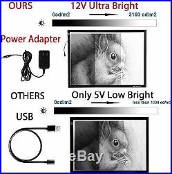 Voilamart A2 LED Tracing Board Light Box Light Pad Illumination Light Panel, w