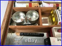 WINDSOR & NEWTON Vintage Professional Oil Paint Box Set