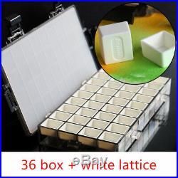 Watercolor tin box moisturizing toner box moisturizing leakproof color packaging