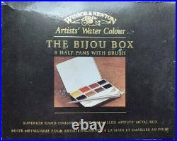 Windor & Newton watercolor Bijou Box rare travel watercolor paint box