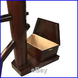 Wing Chun Dummy with Free Stand and storage box by Warrior Martial Art Supply