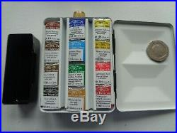 Winsor And Newton Artists Heavyweight Enamelled Watercolour Box