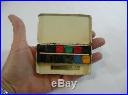 Winsor & Newton 12 half pan Watercolor Bijou Plein Aire Feild Tin Box