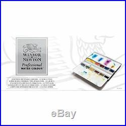 Winsor Newton AWC Heavyweight Enamel Box 12 Whole Pans