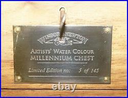 Winsor & Newton Edition 5 / 145 Artists Water Colour Millennium Chest Painting