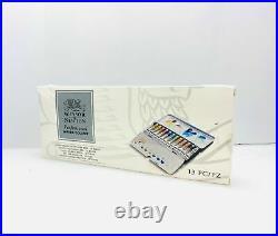 Winsor & Newton Professional Watercolour Paint 12 x 5ml Metal Sketchers Box