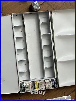 Winsor & Newton Vintage Enameled Watercolor Palette Bijou Box