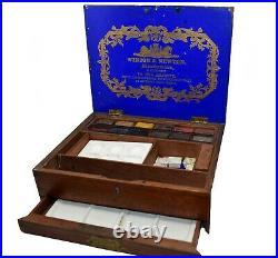 Winsor & Newton Watercolour box Antique RARE Victorian