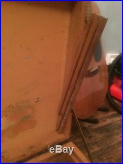 Winsor Newton Wooden Pochade Plein Air Vintage Wood Art Painting Paint Box