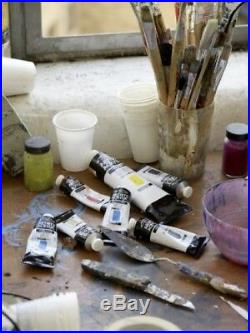 Winsor and Newton Artists' Water Colour Paint Set Chelsea Wood Box