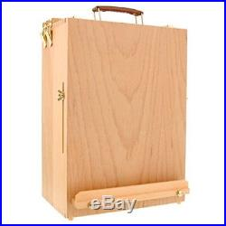 Wood Art Craft Machinist Cabinet Toolbox Chest Drawer Artist's Tool Box Stor