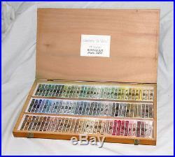 Wooden Box Of 100 (102) Sennelier Landscape Soft Pastels
