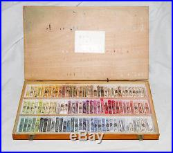 Wooden Box Of 100 (102) Sennelier Portrait Soft Pastels