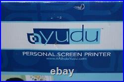 Yudu Personal Screen Printer Screen Printing T Shirt Machine Original Box